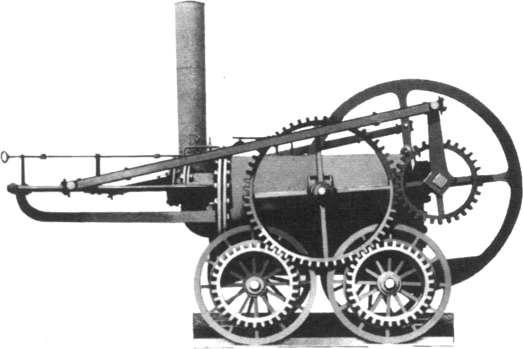 la première locomotive