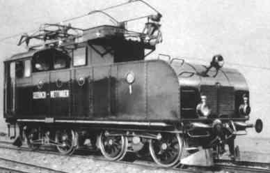 première locomotive
